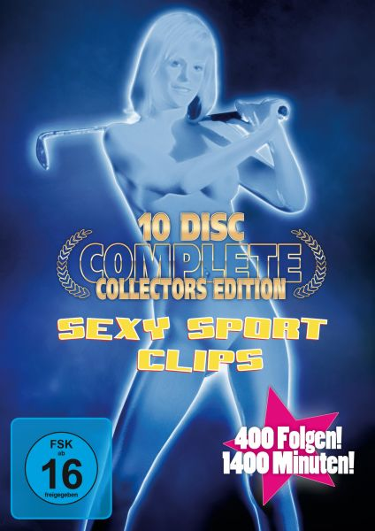 Sexy Sport Clips - Complete 10-Disc Collector's Edition (Neuauflage)